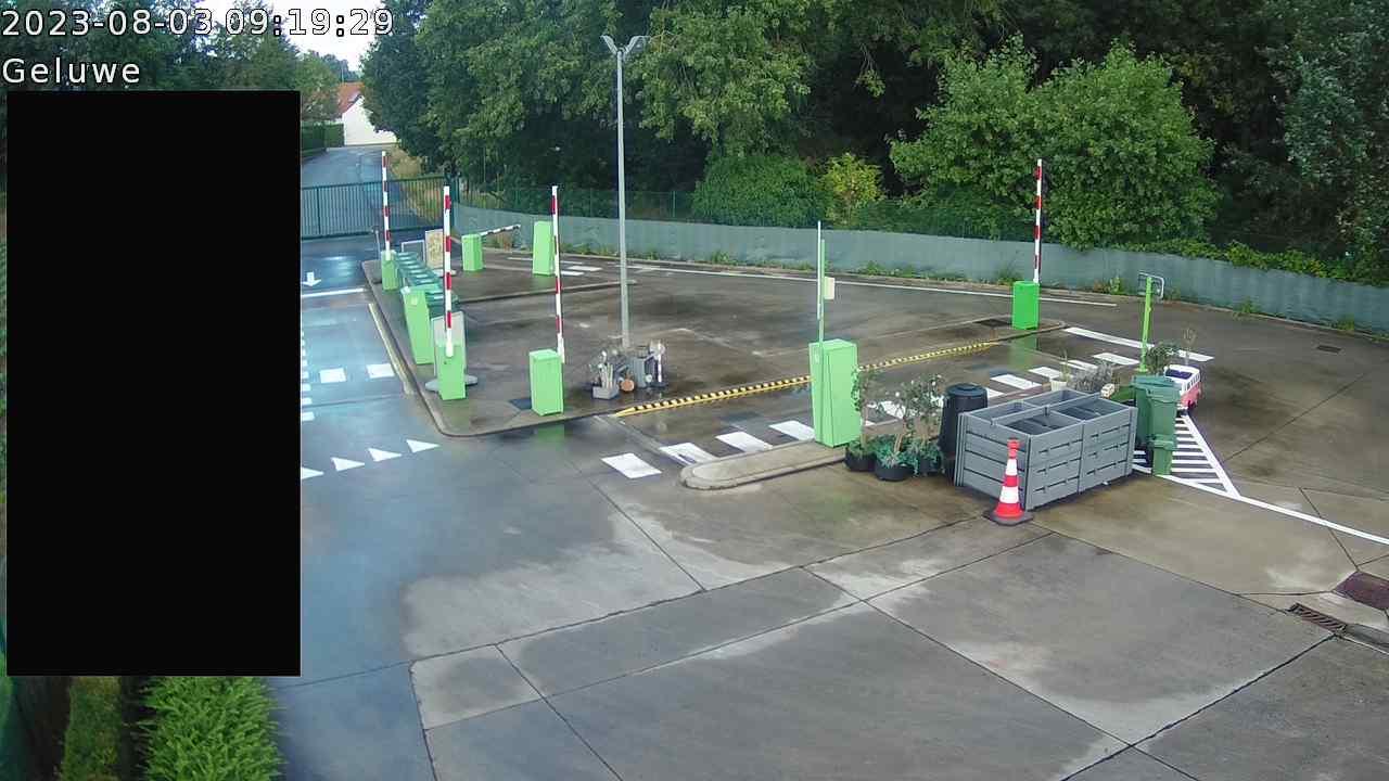 Live webcam Recyclagepark Geluwe