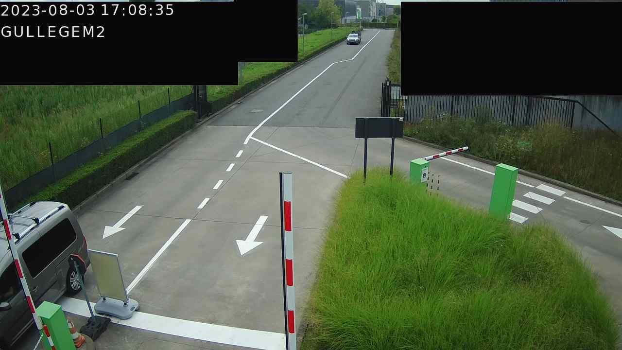 Live webcam Recyclagepark Gullegem (Nijverheidslaan)