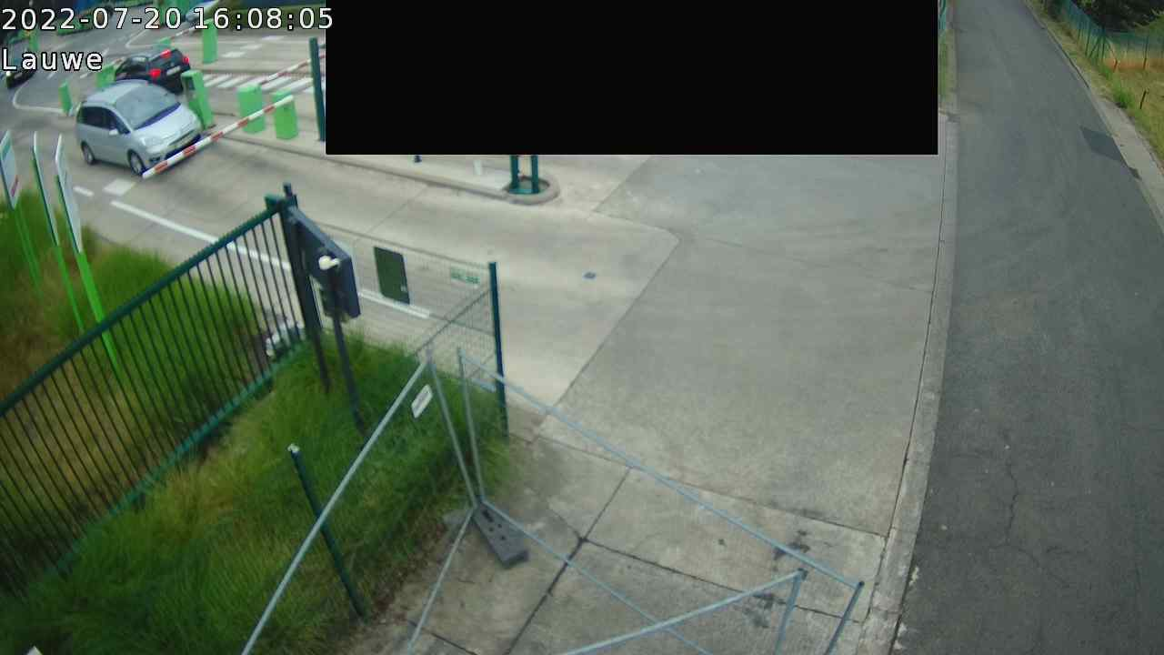 Live webcam Recyclagepark Lauwe