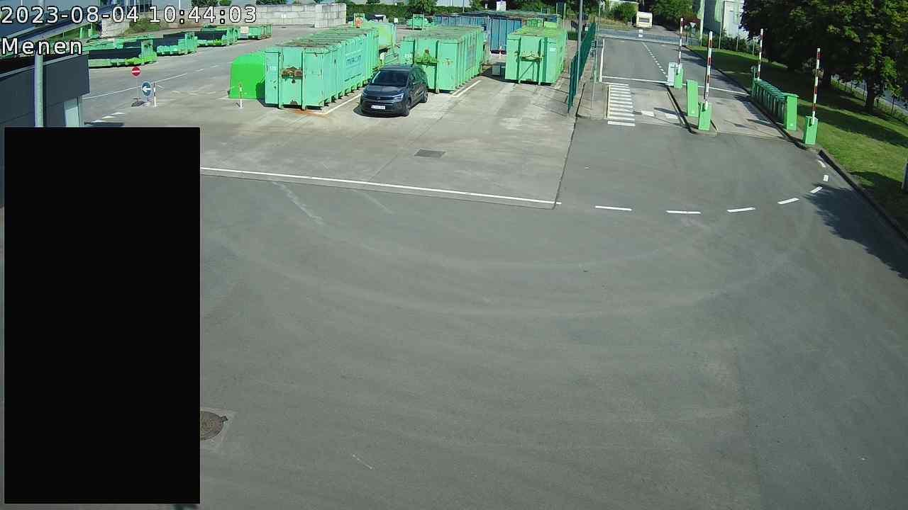 Live webcam Recyclagepark Menen