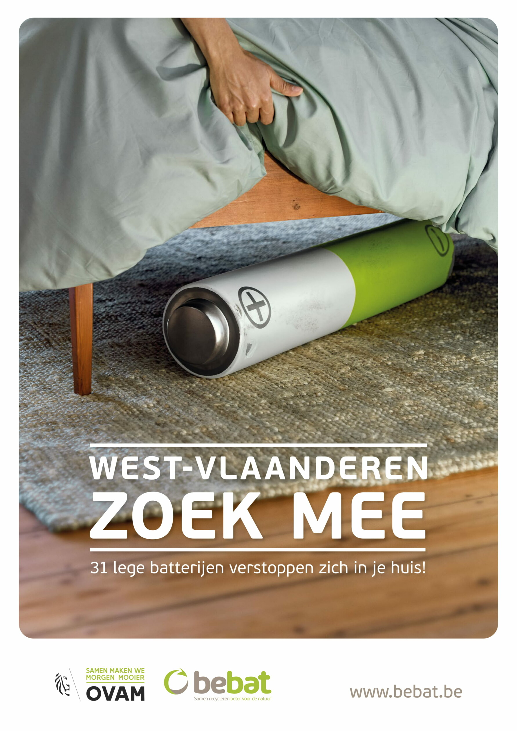 Affiche West Vlaanderen – Bed 1